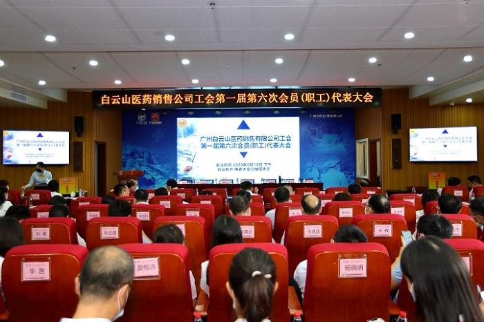 龙8国long8医药销售公司第一届第六次会员(职工)代表大会顺利召开