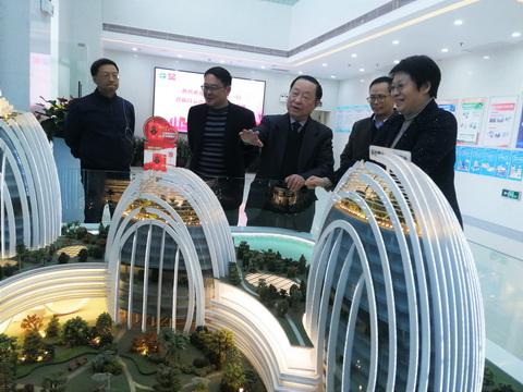 中国工程院廖万清院士到龙8国long8和黄考察指导